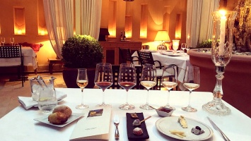 Δείπνο στο γαστρονομικό εστιατόριο Patio του The Margi