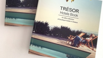 Embark on a journey in Greece with Trésor Hotels Book 2017