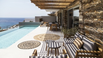 Hideout Suites: We discovered the brand-new luxury suites with private pool on Ios island
