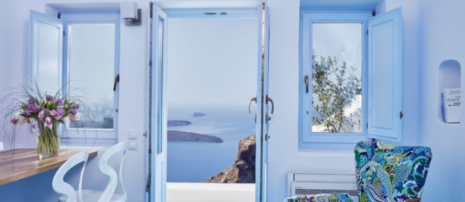 Astra Suites in Santorini is the best four star hotel in Greece for 2018