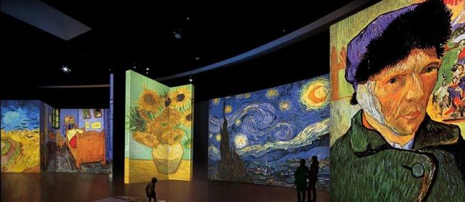 Ο Van Gogh ζωντανεύει στην Αθήνα
