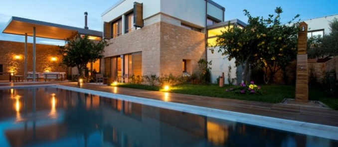 The most luxurious private villa in Greece is at Chania
