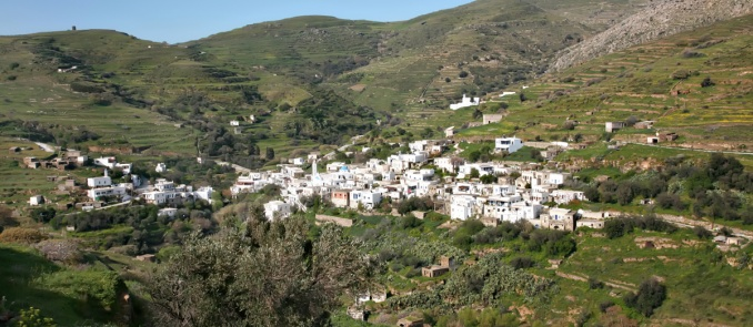 A Cycladic village called Love (Agapi)