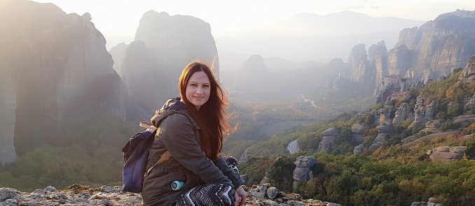 Maria Kofou: The blogger of Travel Stories from My World who has many travel stories to tell
