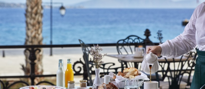 The most delicious Sunday brunch of Spetses at Poseidonion Grand Hotel