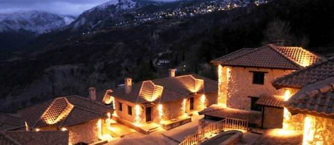 Χριστούγεννα στην Ελλάδα: 6 παραμυθένια ξενοδοχεία για να μείνετε