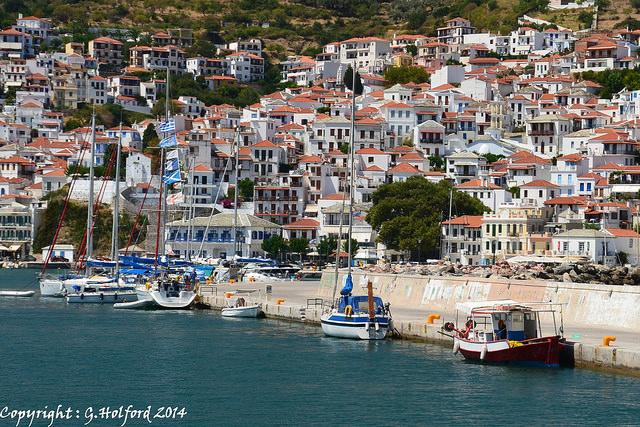 Skopelos by G.Holford