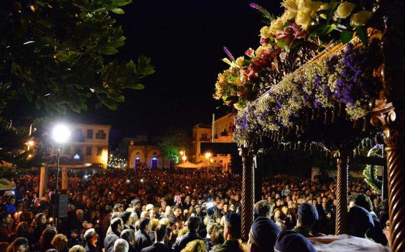 Αποτέλεσμα εικόνας για το Ναύπλιο Μεγάλη Παρασκευή, επιτάφιοι