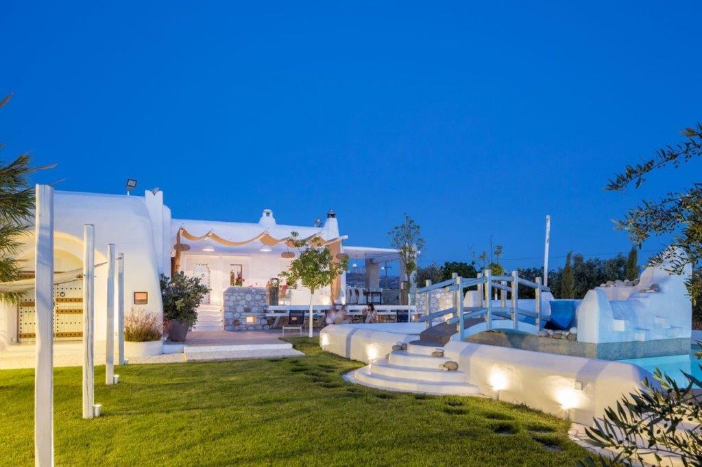villa arxaion kallos night