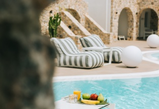Orabel Suites:  Stay 4 Pay 3  in Santorini this May till October
